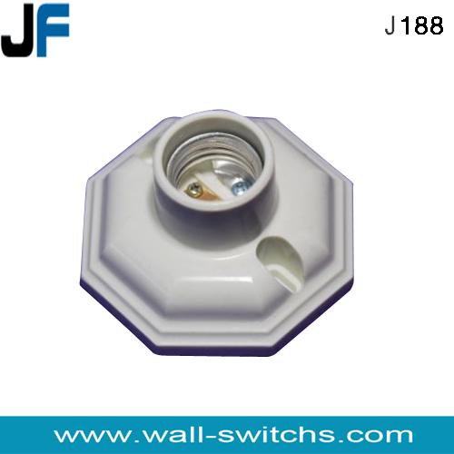 Plaster Ceiling rose E27 BULB Batten Lamp Holder NEW