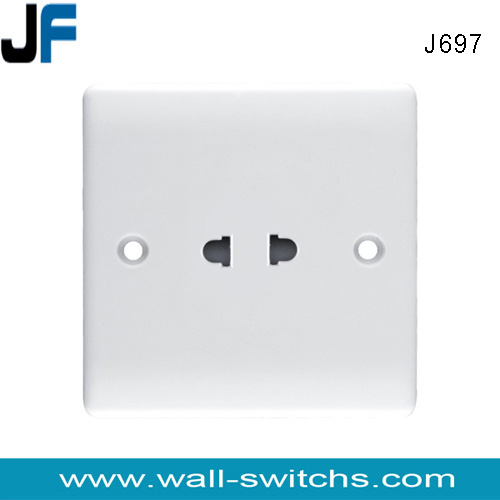 J691 13a Switched Functional And 16a 2 Pin Socket 1gang 1