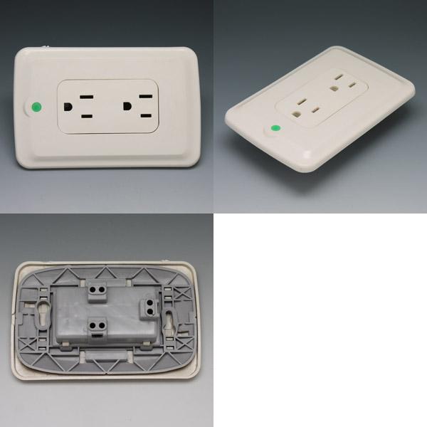 Ng16 125v15a 2gang 3 Pin Socket Electrical Socket Power
